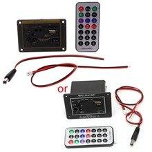 20W High Power DC 12V Bluetooth Car Subwoofer Hi-Fi Amplifier Board TF USB+Remote 20w hi fi mp3 decoder board w remote amplifier board