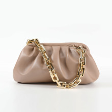 Thick Chain Design PU Leather Crossbody Bags For Women Small Handbags and Purses Female Shoulder Messenger Bag