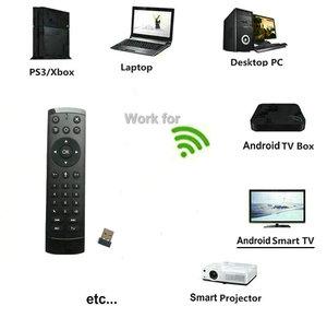 Image 3 - T2M 2,4G Gyro Air Maus 28 IR Lernen Google Stimme Suche für Android Smart TV Box PK T1M G10s g20s G30s G50s Fernbedienung