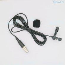 Черный многонаправленный галстук b787 с зажимами петличный микрофон