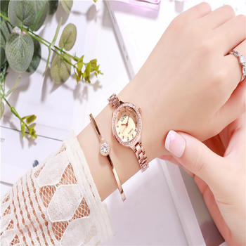 Luxury Watch women quartz wristwatches small ladies watches stainless steel woman watch waterproof fashion diamond rose gold casual watch geneva unisex quartz watch men women wristwatches fashion sports watches rose gold silicone watches dropship