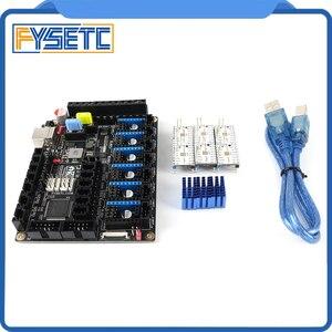 S6 V1.2 carte 32 bits carte de commande avec 6 pièces TMC2209 V3.0 moteur pas à pas pilote Uart fil volant MX connecteur VS F6 V1.3 SKR V1.3