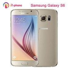 SAMSUNG Galaxy S6 odnowiony telefon komórkowy S6 Egde 5.1 ''32GB ROM 3GB RAM Android oryginalny telefon odblokowany