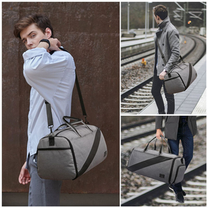 Image 5 - Çok fonksiyonlu yeni spor spor çanta spor taşınabilir erkek seyahat el çantası büyük takım elbise spor çantası eğitim Crossbody omuz çantaları
