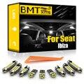 BMTxms для Seat Ibiza 6L 6L1 6J 6P 6J5 6P1 6J1 6P5 6J8 6P8 2002-2016 комплект автомобильного светодиодного интерьерного освещения Canbus автомобильные лампы аксессуары