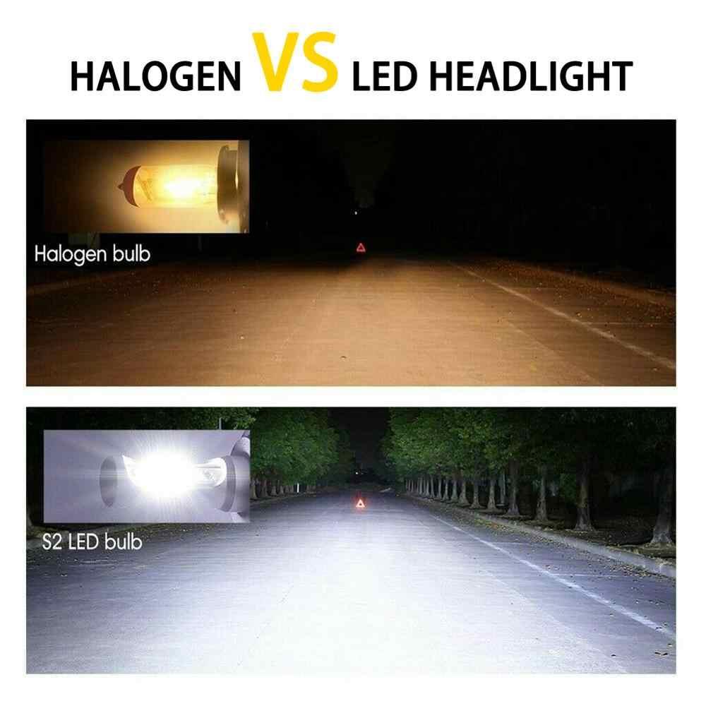 Giảm Giá! 360 Độ Chùm Tia Góc H7 LED Bóng Đèn Pha Chuyển Đổi Bộ HI/Lo Tia 55W 8000LM 6000K Siêu sáng Sỉ CSV
