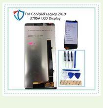 Orijinal 6.36 inç Coolpad için Legacy 2019 3705A lcd ekran + dokunmatik ekran digitizer meclisi araçları ile