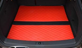 Custom Special Car Trunk Mats for Audi A1 A3 A5 A4 A6 A8 Q3 Q5 Q7 TT A6L A4L Waterproof Durable Cargo Rugs Carpets