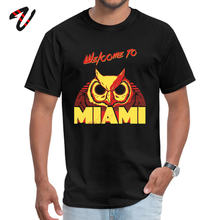 Welcome to Miami III Rasmus Gift T-shirts for Men Cotton Fabric Summer Tops Shirts Tops & Tees Riverdale Puerto Rico Popular(China)