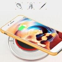 Qi caricabatterie Wireless per Samsung Galaxy Note 9/S10 accessori per telefoni LED USB Smartphone caricabatterie Wireless per iPhone11/XS/XR/8