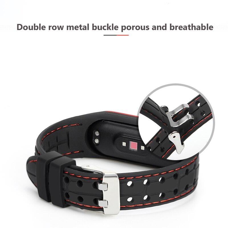 cinta de silicone pulseira de pulso para