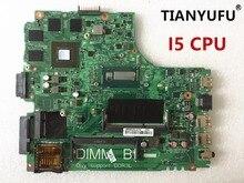 12307 2 עבור dell Inspiron 3437 5437 מחשב נייד האם DOE40 HSW GDDR5 12307 2 DDR3L עם i5 מעבד לוח האם נבדק 100% עבודה