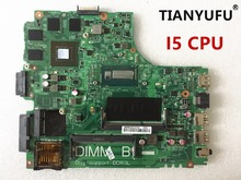 12307 2 dell の inspiron 3437 5437 ノートパソコンのマザーボード DOE40 HSW GDDR5 12307 2 と DDR3L i5 cpu マザーボード 100% テスト作業