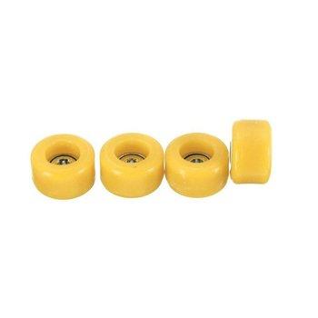 цена на Fingerboard 4 Pcs/Set Professional PU+Metal CNC Bearing Wheels for Wooden Fingerboard