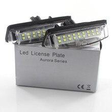 12v led nenhum erro canbus placa de matrícula do carro luz número da lâmpada para toyota camry xv40 v40 40 aurion xv40 eco sedan prius 20