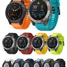 Band-Straps Quick-Release-Strap Silicone Bracelet Smart-Watch Garmin Fenix 945 Forerunner 935