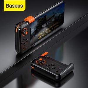 Image 1 - Baseus PUBG Mobile Gamepad Wireless Joystick Game Controller Bluetooth Joystick For IOS Android Mobile Phone Game Pad GAMO