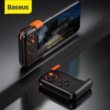 Baseus PUBG mobil Gamepad kablosuz oyun kolu oyun denetleyicisi Bluetooth Joystick IOS Android cep telefonu oyun pedi GAMO