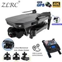 ZLRC 2021 nuovo SG907MAX GPS Drone 4K HD doppia fotocamera 5G fotografia aerea professionale motore Brushless RC quadricottero pieghevole