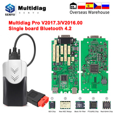 Multidiag Pro+ 2020 V2017.3 Car Diagnostic Tools Scanner OBD 2 OBD2 Bluetooth For Car/Truck ODB 2 For Scania Truck Auto Tool