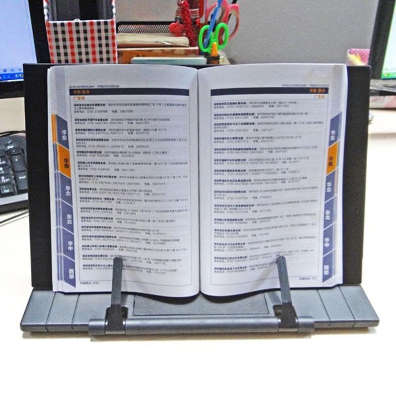 JDD Marco De Madera Estanter/ía De Lectura del Soporte Libro De Lectura del Soporte De Tablet PC Soporte Atril