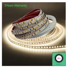 Tiras de luces LED CRI 95, 12V, 24V, blanco frío, Blanco cálido, blanco Natural, CCT, 5m, 600LED