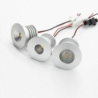 3W 12V-24V 110V 220V 240V 23mm Kit di illuminazione tagliata lampadina a LED faretto Mini faretto per lampada da soffitto da incasso