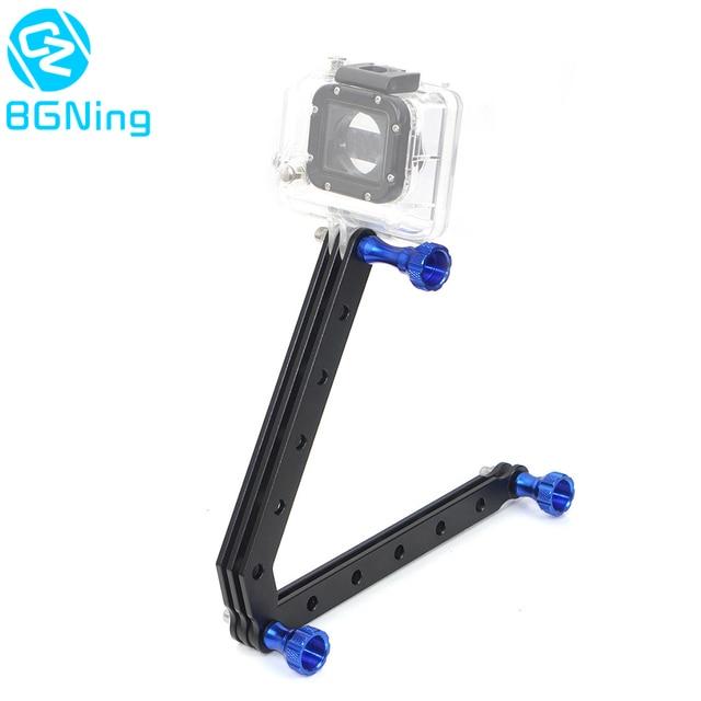 CNC Helmet Selfie Stick Extension Rod Arm with Screws for Gopro Hero 9 8 7 6 5 Session 4 3 Yi SJcam EKEN Sports Action Cameras