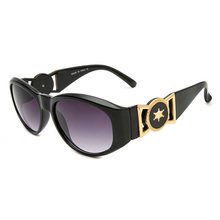Oval Sunglasses Luxury Punk Feminino Vintage Women UV400 Oculos Lentes Gafas-De-Sol Ins