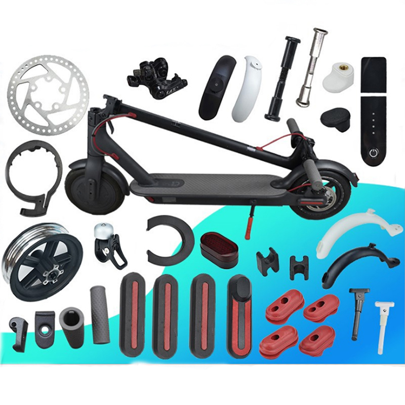 Electric Scooter Parts for Xiaomi M365 MI Fender Kickstand Light Dashboard Mainboard Disc Brakes for Xiaomi M365 Pro Repair Part