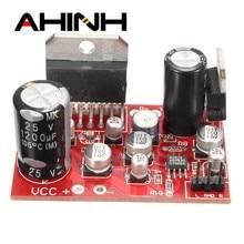 Placa de amplificador estéreo TDA7379, 38W + 38W, CC de 12V, AD828 preamplificador, Super que el módulo de placas de amplificadores NE5532
