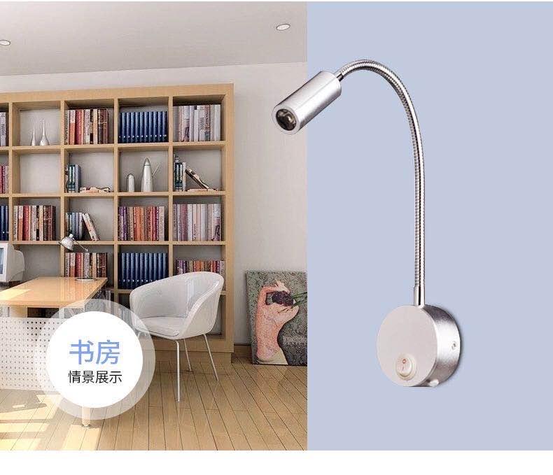 iluminação para o quarto leitura banheiro com plugue wj914
