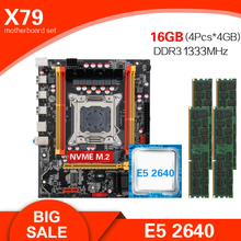 Combo-Kit-Set Ddr3 Ecc Xeon E5 2640 Kllisre X79 4pcs 4GB--16GB 1333 REG Memory Chipset