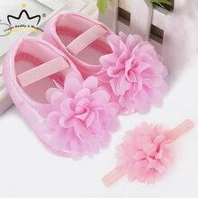 Baby Shoes Cute Flower Newborn Shoes Hea