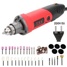 mini grinding machine Variable Speed Rotary Tool Electric Grinder Tools Set 500W Mini Drill 6 position for Dremel Rotary Tools dremel multi pro 230v electric grinder 5 variable speed power rotary tool set
