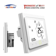 цена на Programmable gas boiler Dry contact thermostat for floor heating