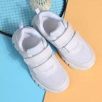 2019 Crianças Sapatos Casuais Outono das Crianças Sneakers Respirável Macio Etiqueta Mágica Correndo Sports Shoes