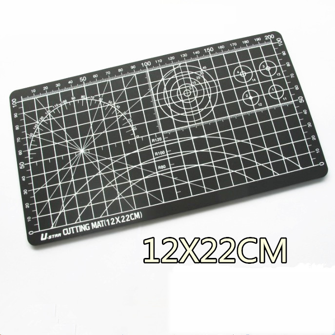 22 * 15cm Cutting Board Double-sided Paper Cutting Pad Etching Engraving Model Board Medium Knife Scale Plate Self-healing