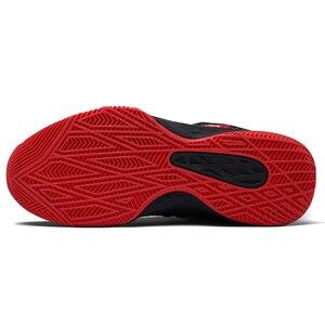 Image 4 - 2019 nuova Mesh Traspirante Scarpe Da Basket, Scarpe di Pallacanestro di Modo Scarpe Da Tennis Degli Uomini di Usura, di Volo Tessuto Superiore È Morbido e Confortevole