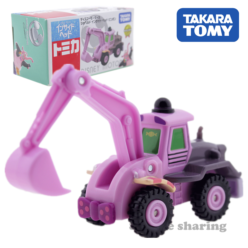 TAkara Tomy Tomica Disney Car Toy Anime Figure Baby Toys Hot Pop Kids Dolls Diecast Miniature Wheel Excavator Model Kit