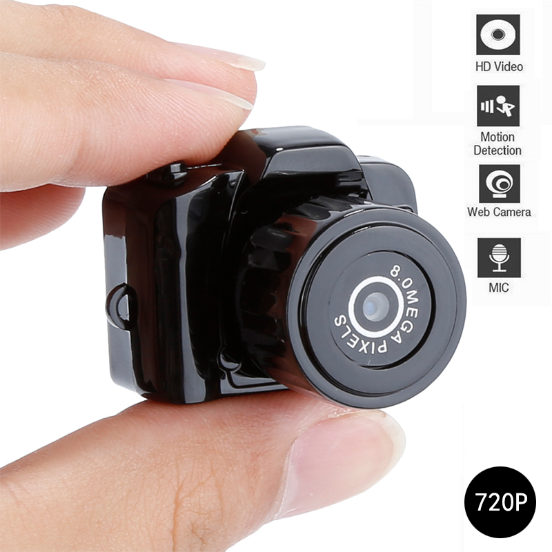2020 NEW Y2000 Mini Camera Camcorder HD 720P Micro DVR Camcorder Portable Webcam Recorder Camera