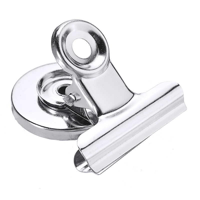 12Pcs Starke Magnetische Clips Kühlschrank Hinweis Memo Halter Werkzeug Metall Hinweis Nachricht Clips Für Home Office Kühlschrank Bindling Organizer