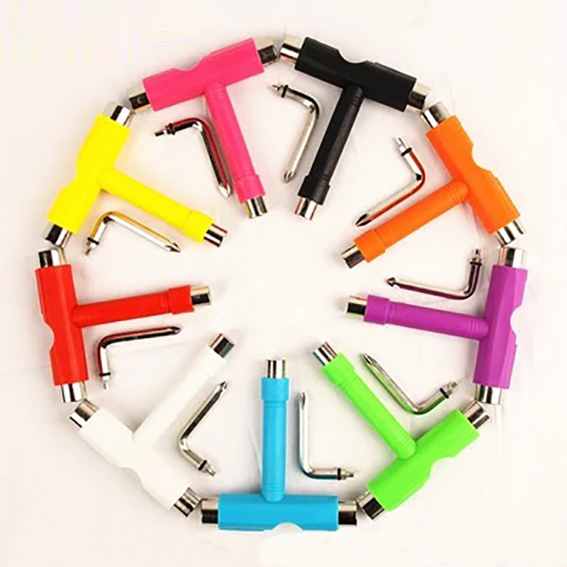 Skateboard Accessory T-Shape Plastic Tool Wrench Dance Board Only Tool Skateboard Bearings Wholesale A Generation Of Fat