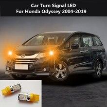 2PCS Car Turn Signal LED Command light headlight modification 12V 10W 6000K For Honda Odyssey 2004-2019