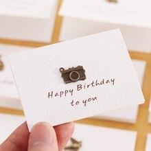 1 шт. День рождения поздравление открытки с конвертом лазер резка открытка открытка для дня рождения Рождества Валентина% 27 день вечеринка свадьба украшение