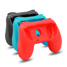 2PCS Left Right Switch Joy-Con Gamepad Grip Game Pad Back Holder N-Switch Joy-Con Game Handle Joypad Controller Grip(China)