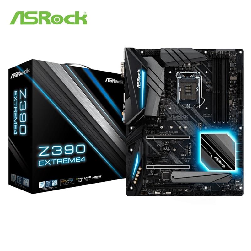 NEW ASRock Z390 Extreme4 Extreme desktop motherboard LGA 1151 DDR4 Desktop PC sales mainboard