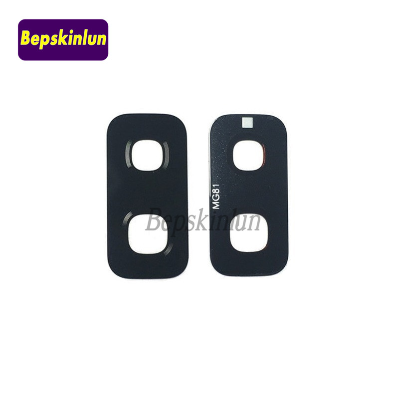 Bepskinlun Original Camera Glass <font><b>Lens</b></font> for <font><b>Samsung</b></font> <font><b>Galaxy</b></font> <font><b>S9</b></font>+ <font><b>S9</b></font> Plus Camera <font><b>Lens</b></font> Replacement Part with Adhesive Sticker image