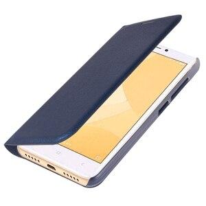 Image 3 - Flip cüzdan deri telefon kılıfı için Xiaomi Redmi 4X kapak Xiomi redmi4x 4 X küresel sürüm kredi kartı ile cep yuvası kapakları