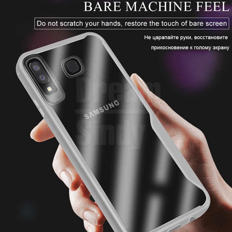 Lüks zırh yumuşak silikon tampon telefon samsung kılıfı Galaxy A10 A20E A30 A40 A50 A70 M10 M20 M30 darbeye dayanıklı telefon kılıfı